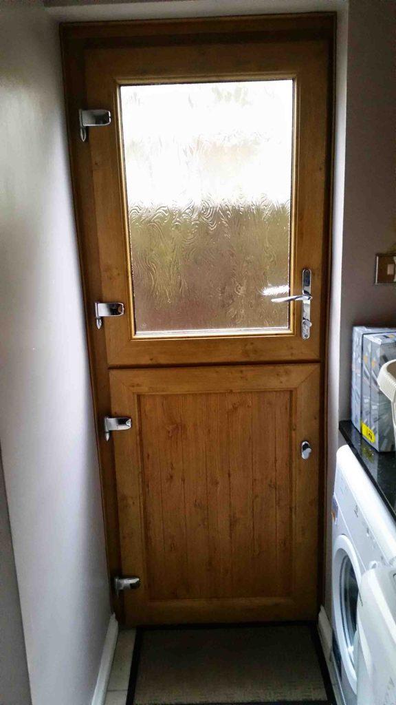 Brown Back Door